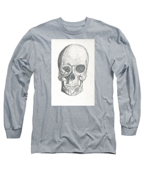Skull Study 2 Long Sleeve T-Shirt