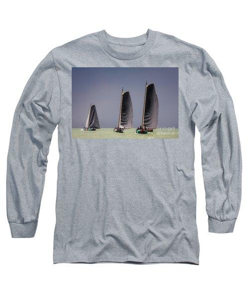Skutsje Wedstrijd Voor De Wind Long Sleeve T-Shirt