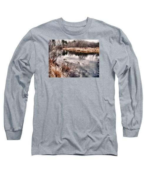 Long Sleeve T-Shirt featuring the photograph Sky Low by Betsy Zimmerli