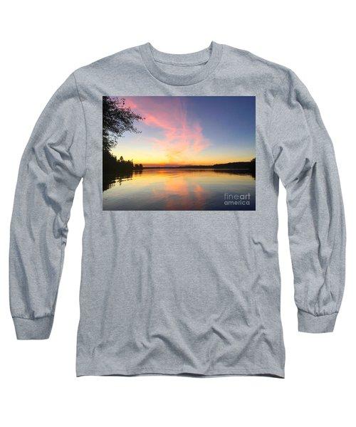 Slack Tide Long Sleeve T-Shirt by Sean Griffin
