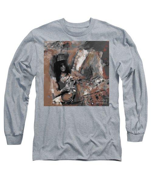 Slash Guns And Roses  Long Sleeve T-Shirt