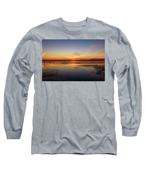 Long Sleeve T-Shirt featuring the photograph Touching The Golden Cloud by Thierry Bouriat