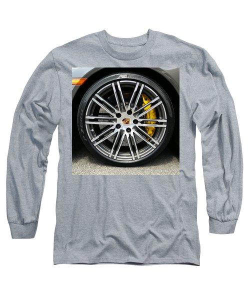 Long Sleeve T-Shirt featuring the photograph Sleek And Fast by Robert Knight