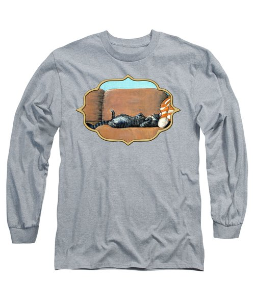 Sleeping Cat Long Sleeve T-Shirt