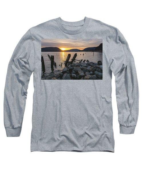 Sleepy Waterfront Dream Long Sleeve T-Shirt