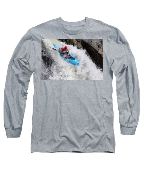 Slicing To The Finish Long Sleeve T-Shirt