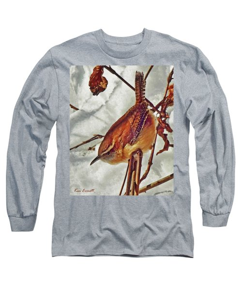 Slim Pickens, Carolina Wren Long Sleeve T-Shirt