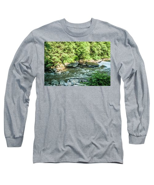 Slippery Rock Gorge - 1898 Long Sleeve T-Shirt