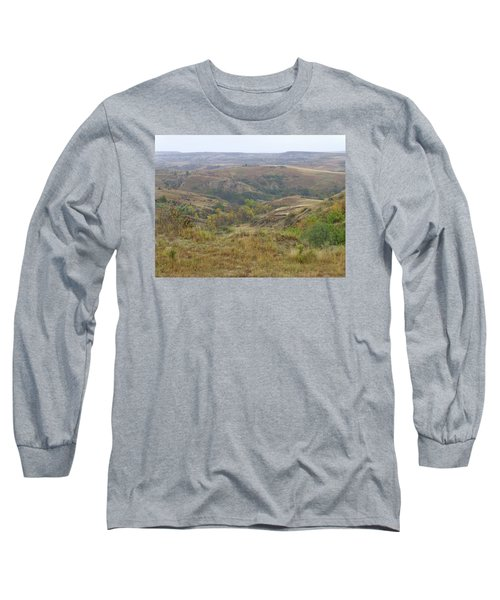 Slope County In The Rain Long Sleeve T-Shirt