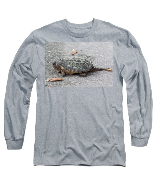 Slow Crossing 3 March 2018 Long Sleeve T-Shirt