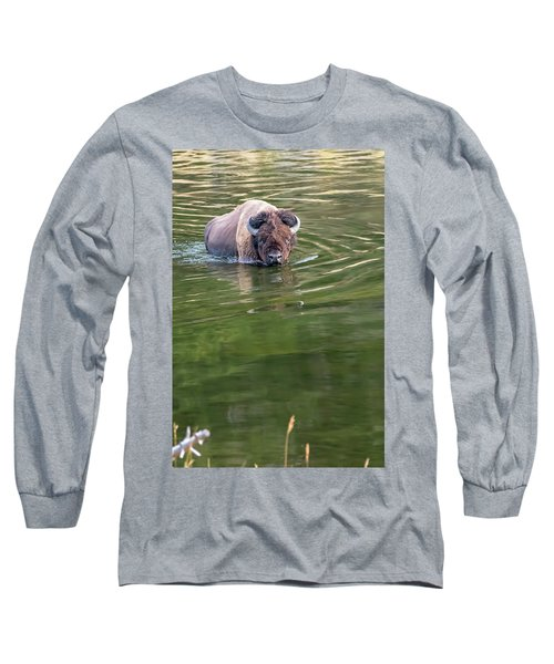 Slow Wadeing  Long Sleeve T-Shirt