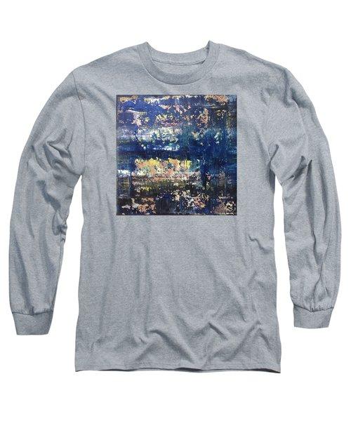 Small Blue Long Sleeve T-Shirt