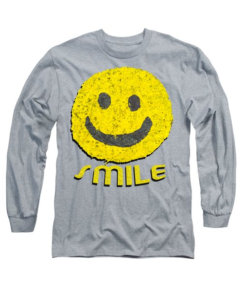 Smile Long Sleeve T-Shirt by Thomas Young