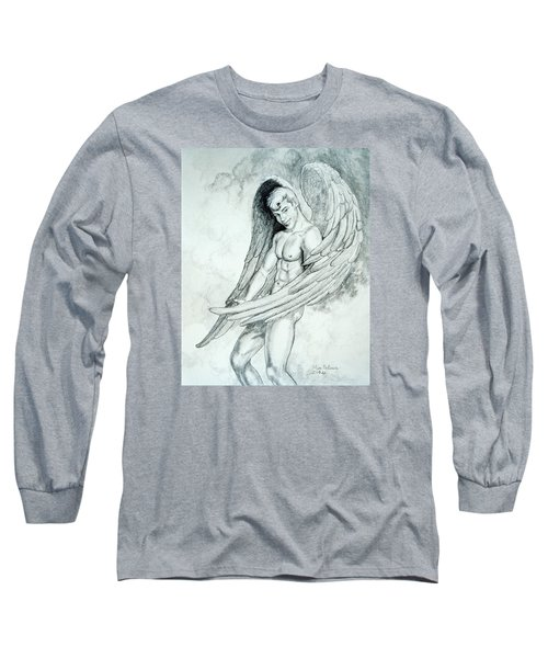 Smiling Angel Long Sleeve T-Shirt