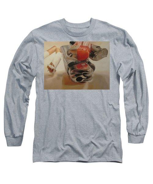 Smoke Break Long Sleeve T-Shirt by Cherise Foster