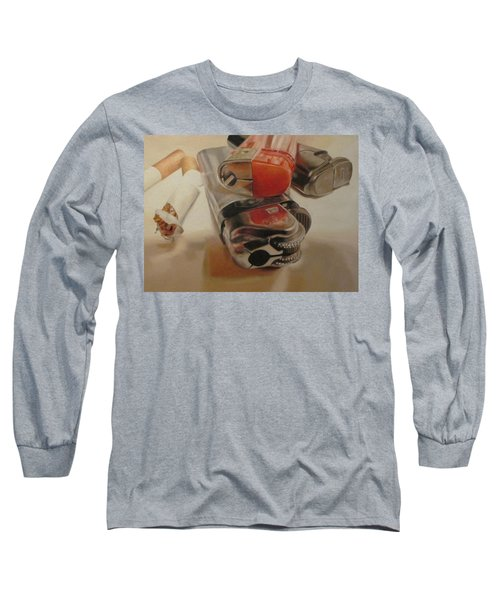 Smoke Break Long Sleeve T-Shirt