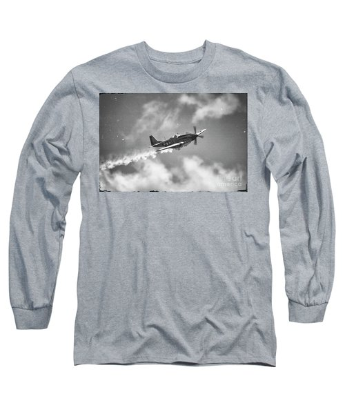 Smokin 51 Bw Long Sleeve T-Shirt