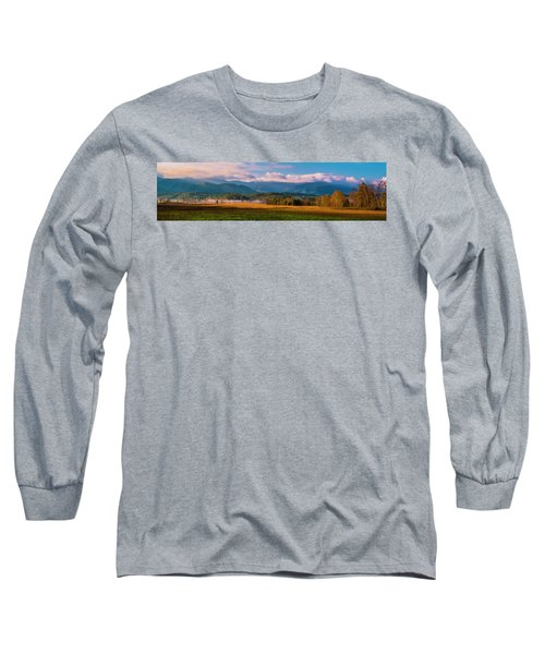 Smoky Mountains At Cades Cove I Long Sleeve T-Shirt
