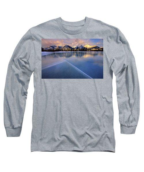 Smooth Ice Long Sleeve T-Shirt by Dan Jurak