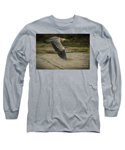 Smooth Sailing Wildlife Art By Kaylyn Franks Long Sleeve T-Shirt