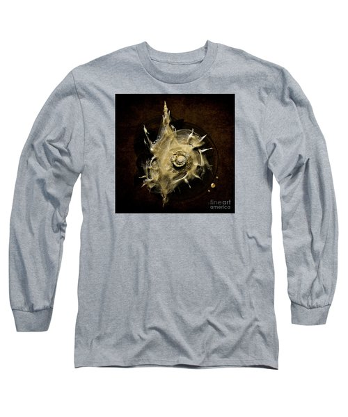 Long Sleeve T-Shirt featuring the painting Sea Shell by Alexa Szlavics