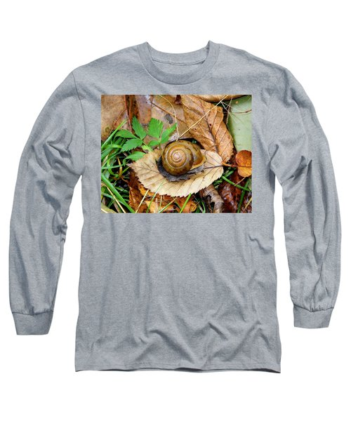 Snail Home Long Sleeve T-Shirt