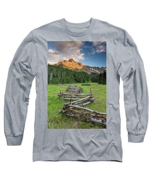 Sneffels Fence Vertical Long Sleeve T-Shirt
