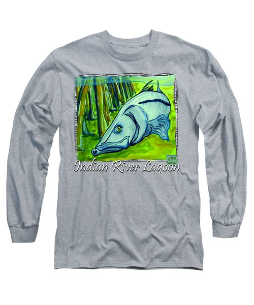 Snook Fish Long Sleeve T-Shirt by W Gilroy