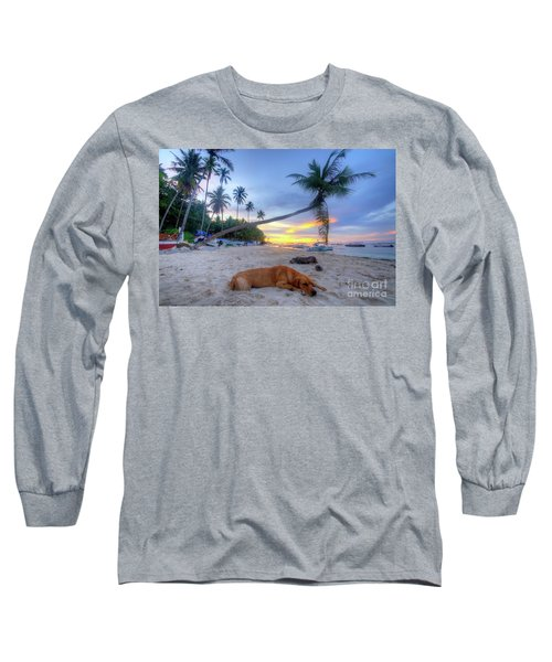 Long Sleeve T-Shirt featuring the photograph Snooze by Yhun Suarez