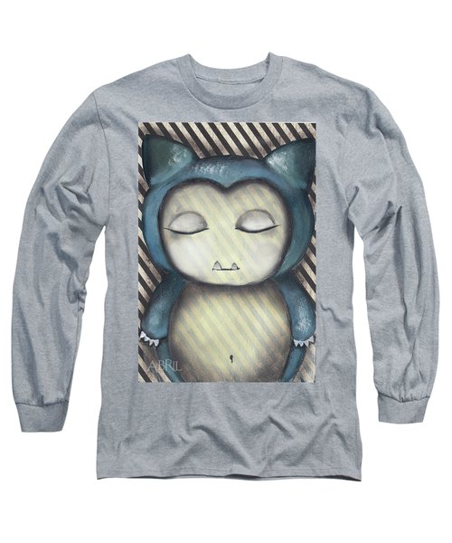 Snorlax Long Sleeve T-Shirt by Abril Andrade Griffith