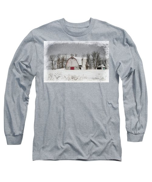 Snow Barn Long Sleeve T-Shirt