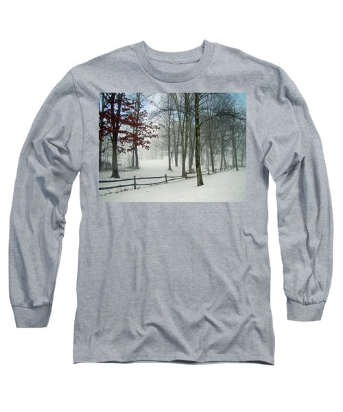 Snow Begins Long Sleeve T-Shirt