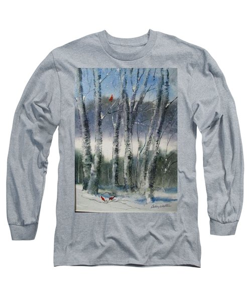 Snow Birch  Long Sleeve T-Shirt