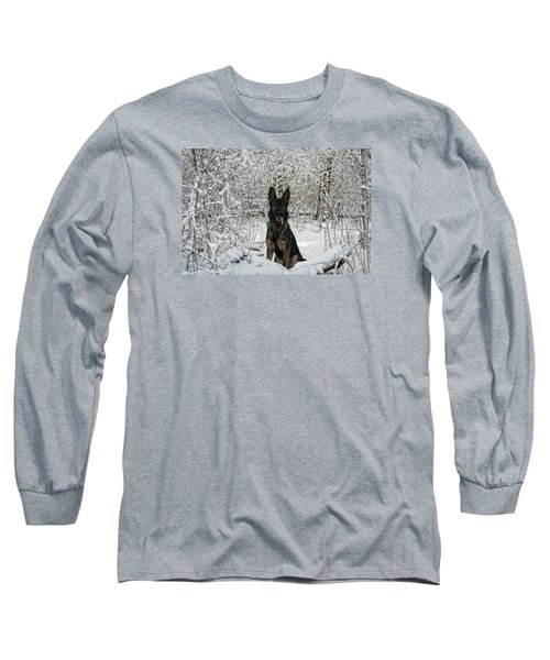 Snow Dog Long Sleeve T-Shirt