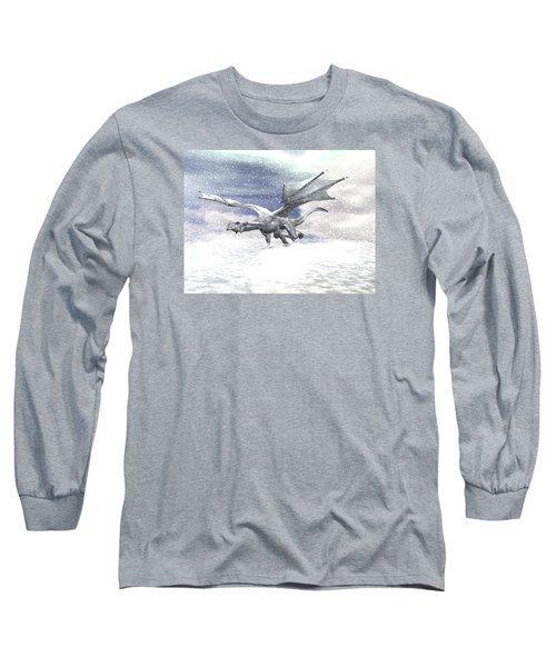 Snow Dragon Long Sleeve T-Shirt