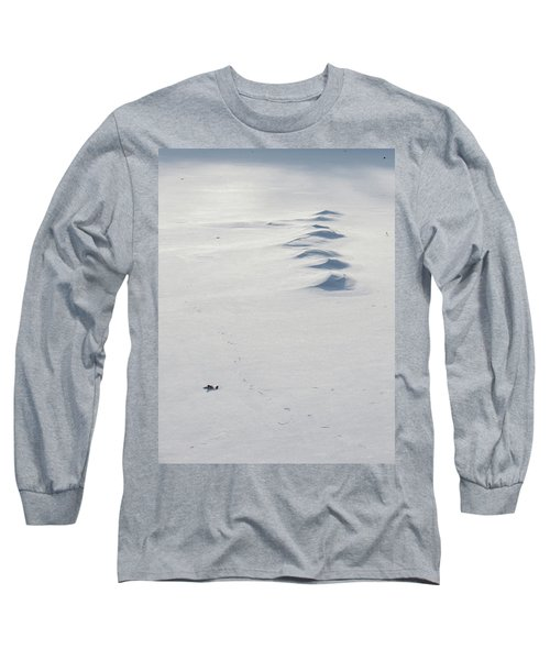 Snow Drifts Long Sleeve T-Shirt
