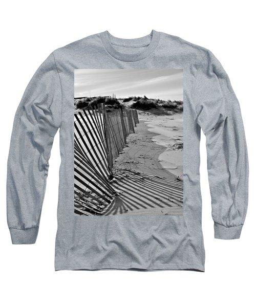 Snow Fence Long Sleeve T-Shirt