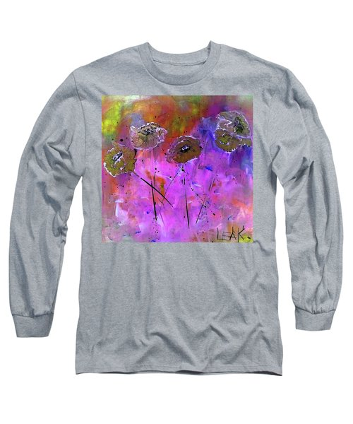 Snow Flowers Long Sleeve T-Shirt