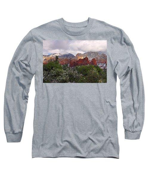 Snow In Heaven Long Sleeve T-Shirt