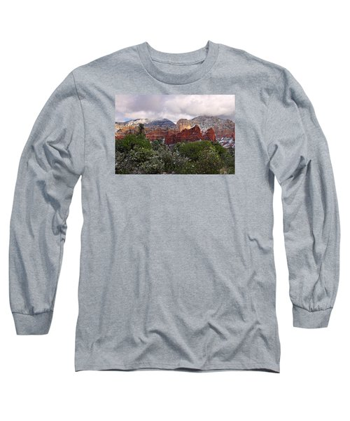 Snow In Heaven Long Sleeve T-Shirt