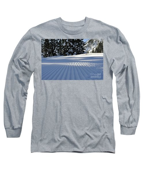 Snow Is Groovy Man Long Sleeve T-Shirt