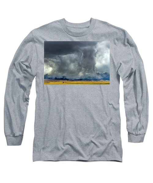 Snow On The Rockies Long Sleeve T-Shirt
