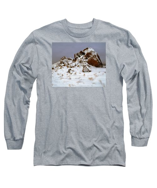 Snow Stones Long Sleeve T-Shirt