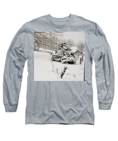 Snow Tree Long Sleeve T-Shirt