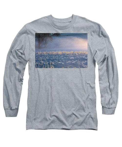 Snow Waves Long Sleeve T-Shirt