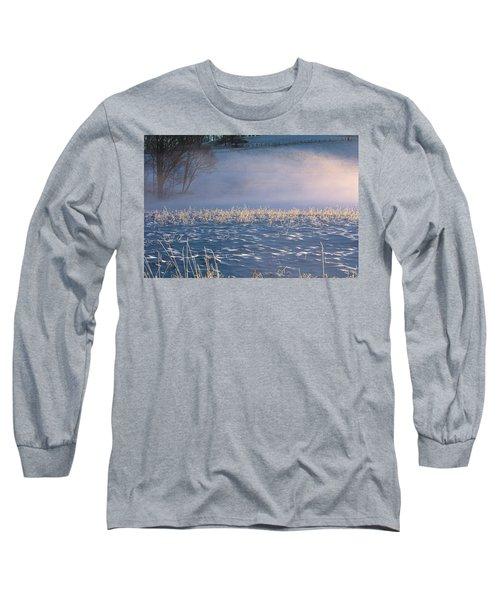 Snow Waves Long Sleeve T-Shirt