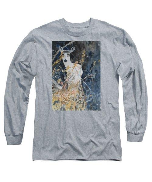 Snow White Long Sleeve T-Shirt by Christine Lathrop