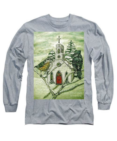 Snowbirds Visit St. Paul Long Sleeve T-Shirt