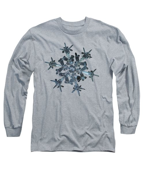 Snowflake Photo - Starlight II Long Sleeve T-Shirt by Alexey Kljatov