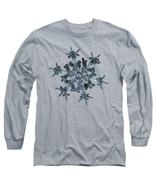 Snowflake Photo - Starlight II Long Sleeve T-Shirt